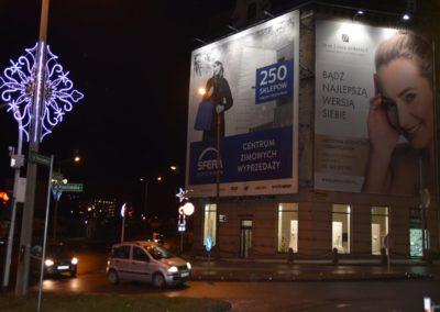 Bielsko- Biała, skrzyżowanie ul. Piastowskiej i ul. 3 Maja